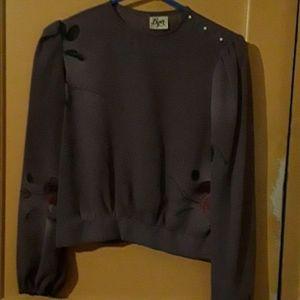Misses sheer blouse by Byer California